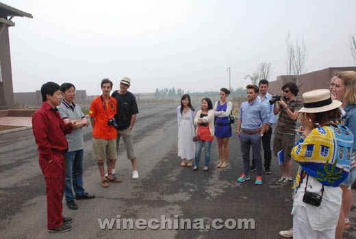 The 25th OIV MSc Masters Visited Beijing and Shacheng Regions