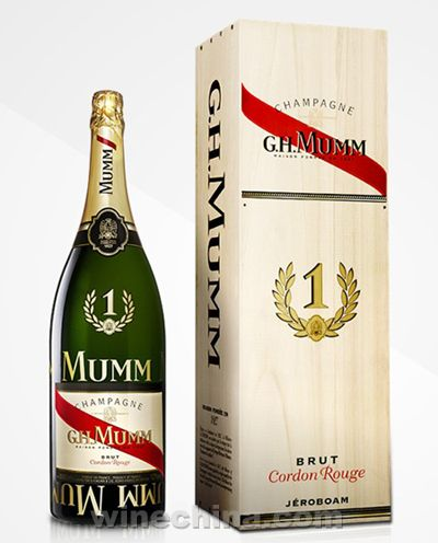 Pernod ricard releases formula one jeroboams of mumm chagne