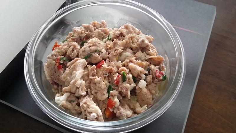 之味菜谱(194):元森酒庄赤霞珠干红葡萄酒配蟹酱滑蛋