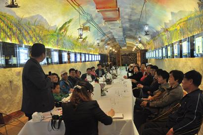 青岛葡萄酒博物馆举办自酿沙龙交流会