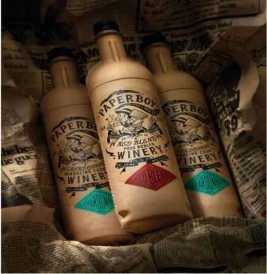 纸质酒瓶窜红美国市场,纸制品深度入侵玻璃包装领地