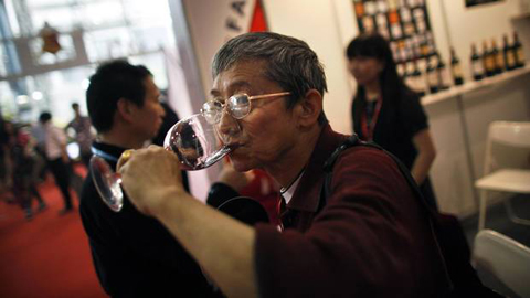China is by far the world's largest wine market