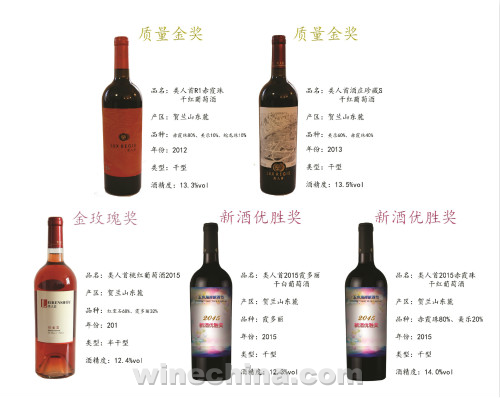 2015中国优质葡萄酒挑战赛获奖产品鉴赏(8)类人首酒业