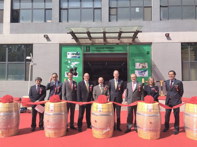 The Cork Supply Group Opens New Facility In China