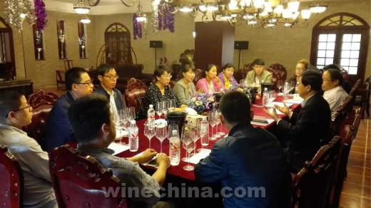 中国酿酒师联盟宁夏协会首次品鉴活动举行