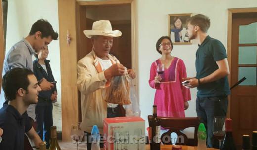 OIV MSc葡萄酒管理硕士班探访贺兰山东麓