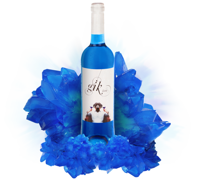 Blue Wine Set To Hit The Market In The UK