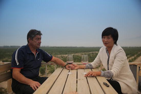 """""""波尔多遇上贺兰山"""":中法葡萄酒的""""万里情缘"""""""