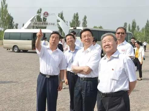 中央领导韩正考察宁夏农垦葡萄产业