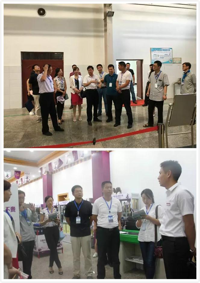 农业部农垦局组织部分垦区单位 莅临西夏王考察调研