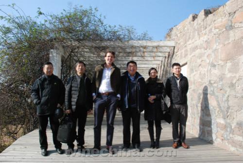 Decanter国际客户经理莫瑞察走访中国产区
