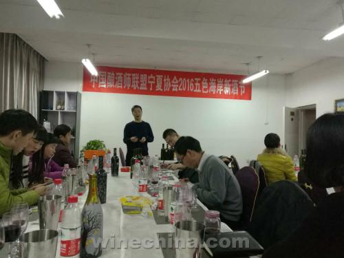 宁夏产区2016五色海岸新酒节开幕