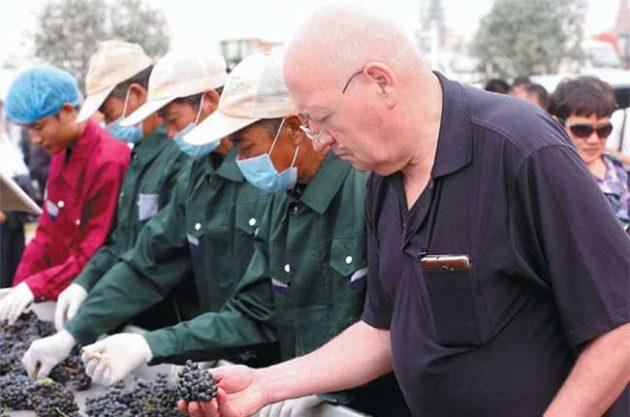 Chinese wine pioneer, Gerard Colin, dies