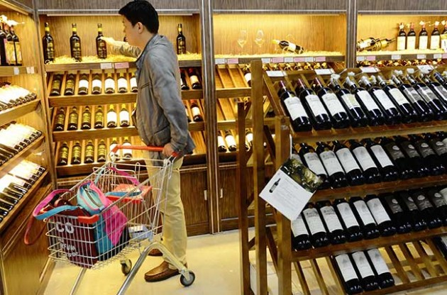 China is now Chile's most lucrative wine export market
