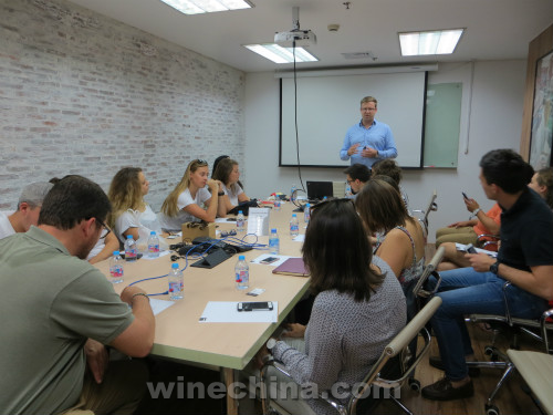 The 29th Class of OIV MSc Started China Wine Trip in Shanghai