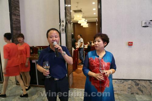 中国酿酒师联盟宁夏协会招待晚宴银川盛大举行