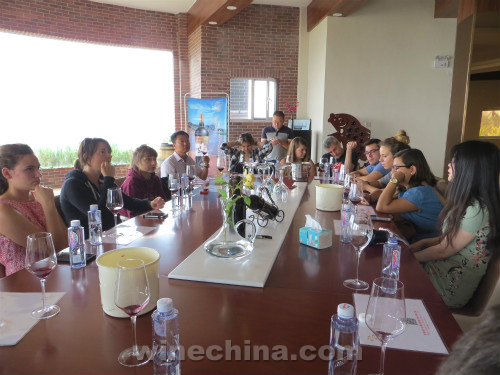 The 29th Class of OIV MSc Visited Helan Mountain Region
