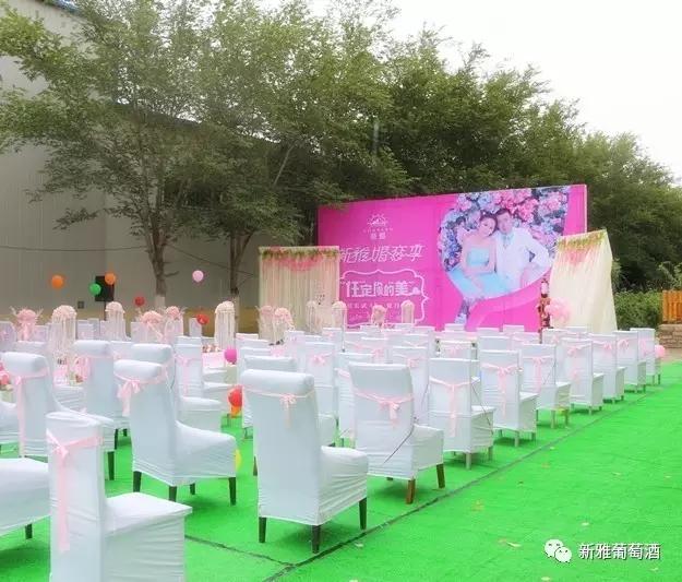【葡粹动态】哈密首场公益婚礼在新雅酒庄圆满举办