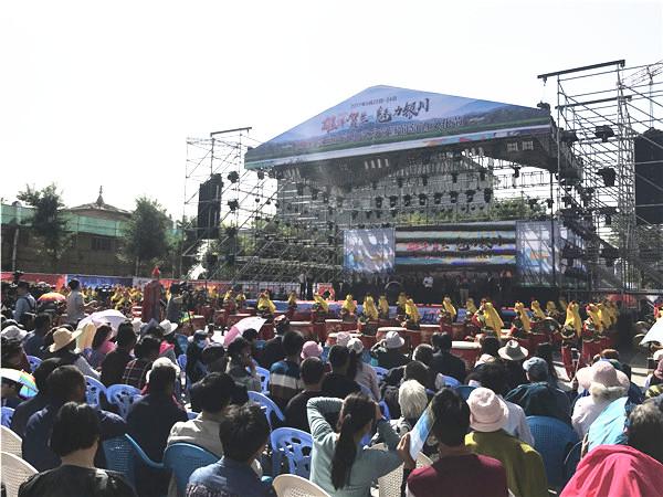 2017贺兰山文化艺术节暨葡萄酒文化节开幕