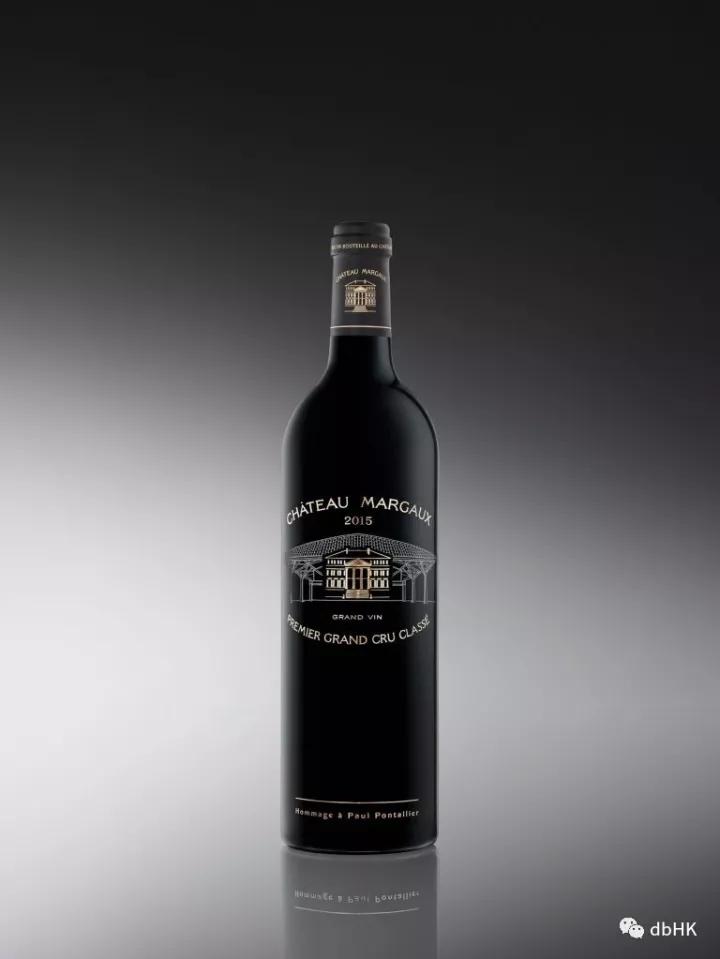 玛歌酒庄以2015年份酒瓶纪念前酿酒总监Pontallier