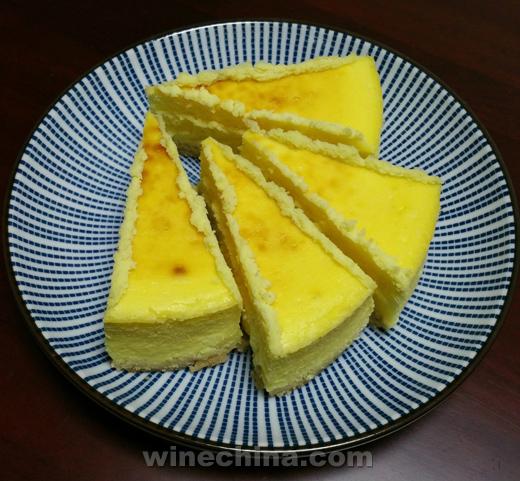 之味菜谱(264)中餐配国酒:重乳酪芝士蛋糕・配太行冰谷冰酒