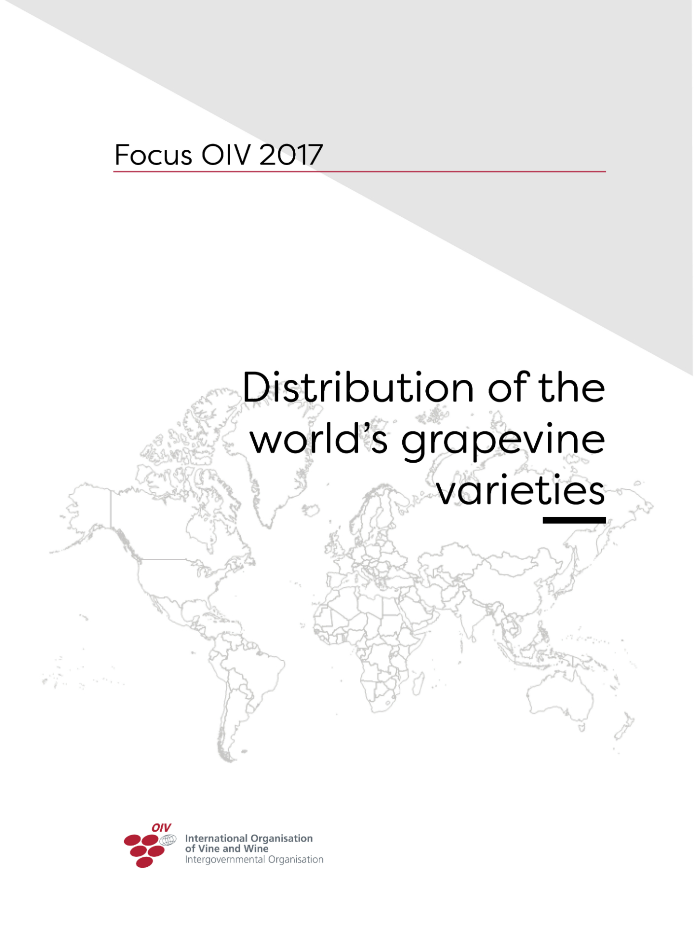 The distribution of the world's grapevine varieties: new OIV study available!