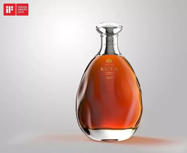张裕可雅白兰地•水滴瓶――荣获德国iF设计大奖