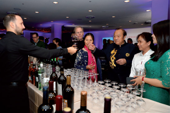 China's wines take center stage