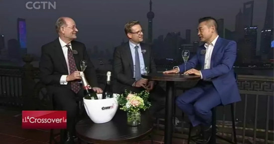 EMW|CEO Interview with CCTV Crossover