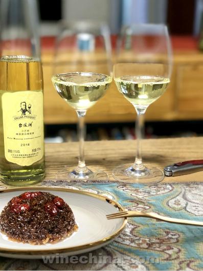 之味菜谱(308)台依湖小芒森晚收甜白葡萄酒・配黑糖糯米糕