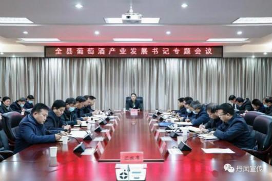 郑晓燕主持召开丹凤县专题会议,研究推进全县葡萄酒产业高质量发展工作